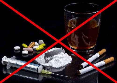 откажись от вредных привычек