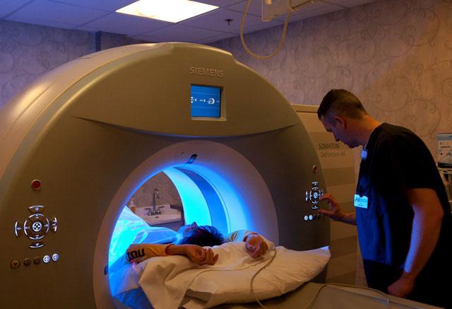 ангиография с помощью компьютерного томографа