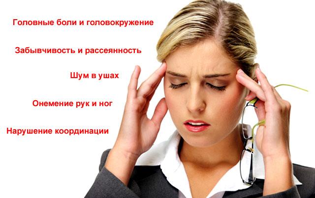 симптомы-предшественники инсульта у женщин