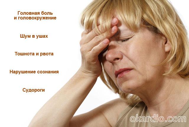 общемозговые симптомы инсульта