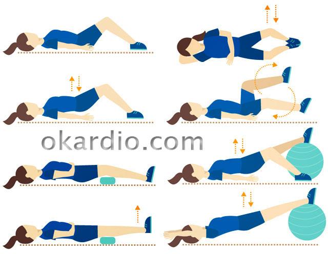 упражнения после инсульта в положении лежа