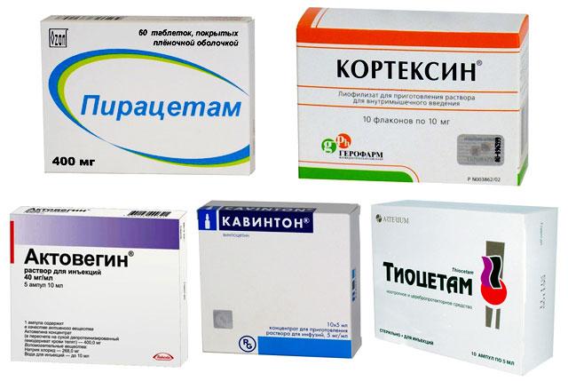 препараты, которые помогают в восстановлении памяти