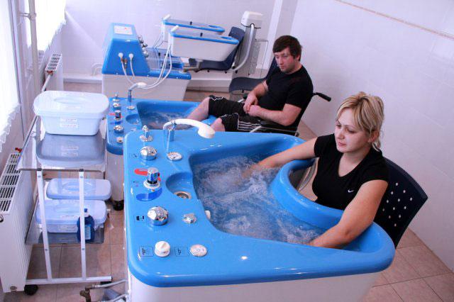 вихревые ванны для рук и ног