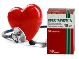 престариум - препарат для лечения сердечной недостаточности