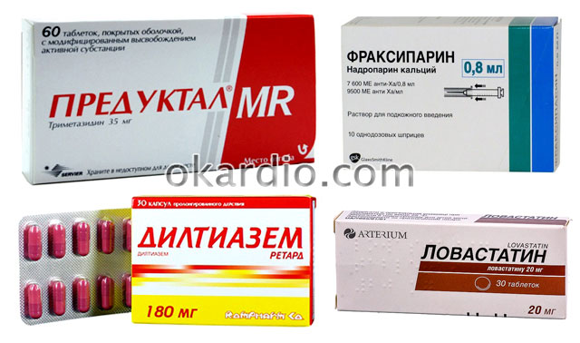 препараты для лечения нестабильной стенокардии