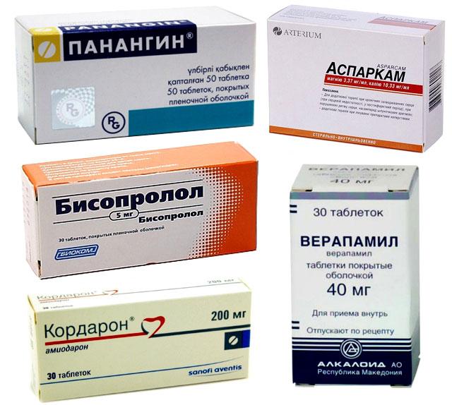противоаритмические препараты