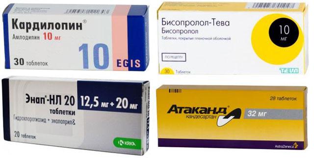 лекарства против высокого артериального давления