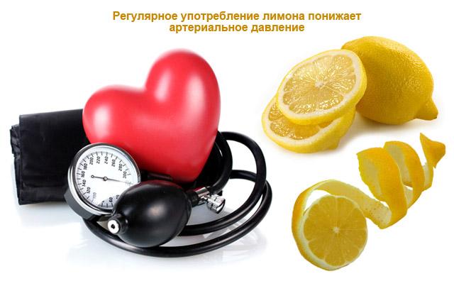 лимон понижает артериальное давление