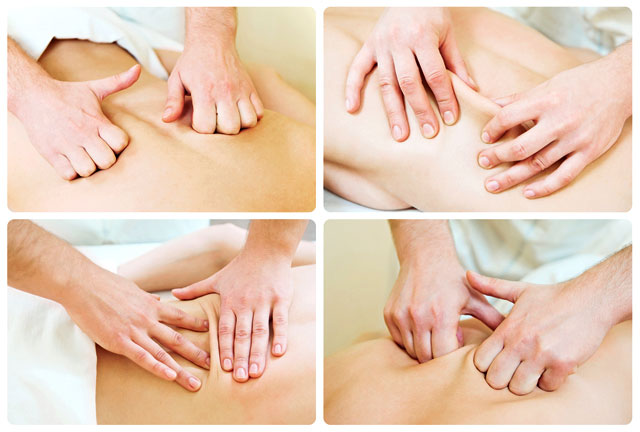 как сделать расслабляющий массаж всего тела