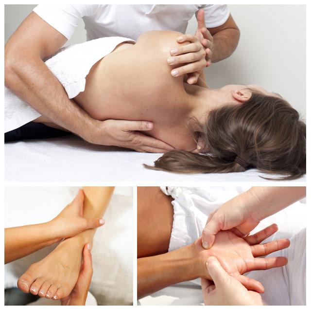 общий расслабляющий массаж тела