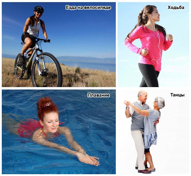 виды аэробных упражнений после инсульта