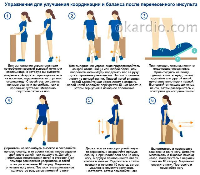 упражнения для улучшения координации и баланса
