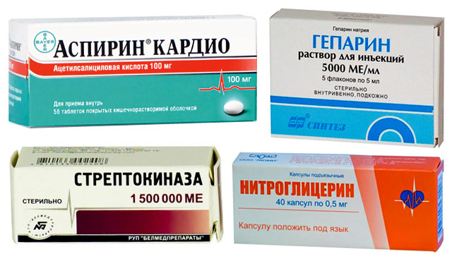 препараты при инфаркте миокарда