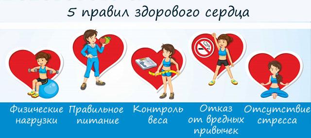 советы по здоровью сердца