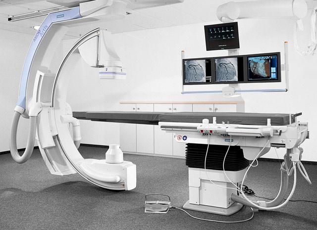 оборудование для проведения ангиографического исследования