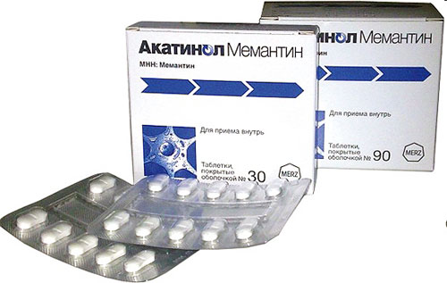 ноотропный препарат Акатинол Мемантин