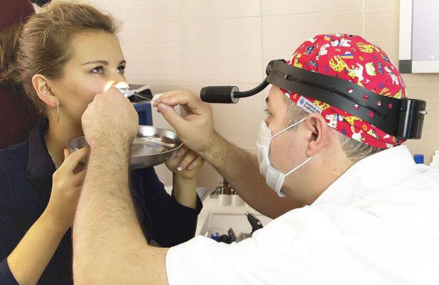 прижигание слизистой носа нитратом серебра