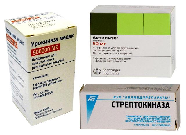 препараты для тромболизиса