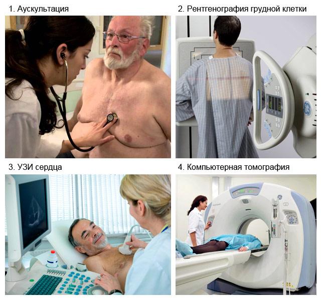 методы диагностики миксомы сердца