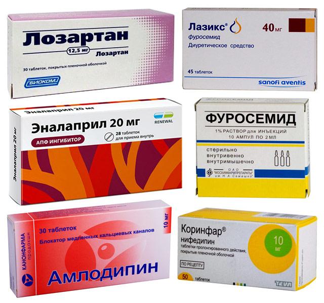 препараты для гипертоников с редким пульсом