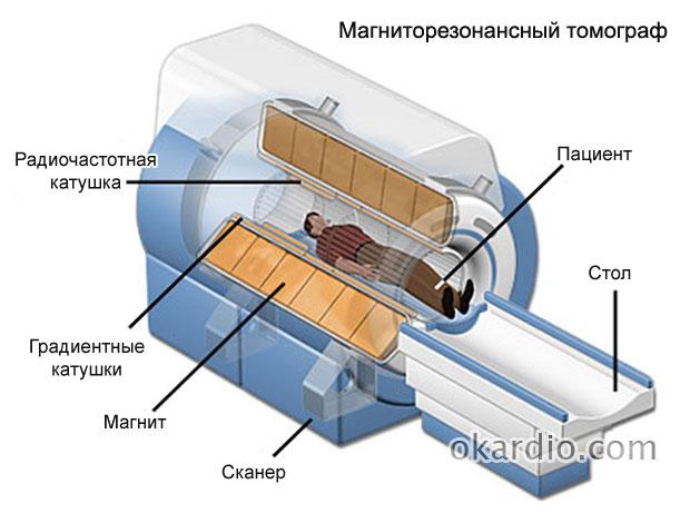 магниторезонансный томограф строение