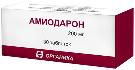 препарат Амиодарон