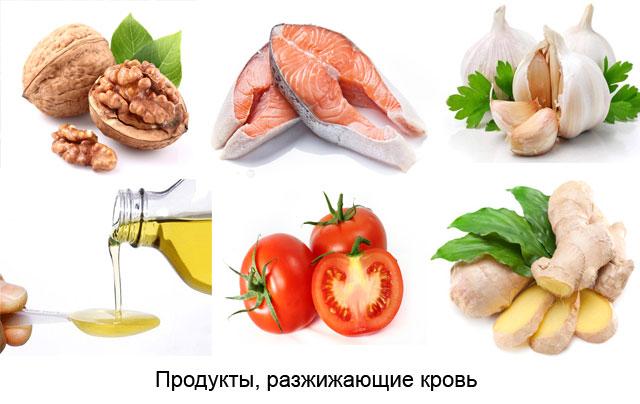Какие продукты разжижают кровь и укрепляют стенки сосудов кому они нужны