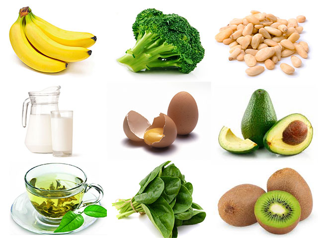 продукты с большим содержанием витамина К