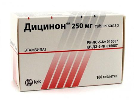 Дицинон при маточных кровотечениях: действие и результативность ...