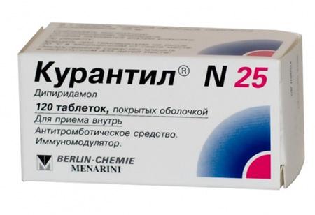 препарат Курантил