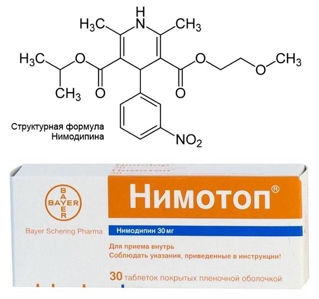 препарат Нимотоп (Нимодипин)