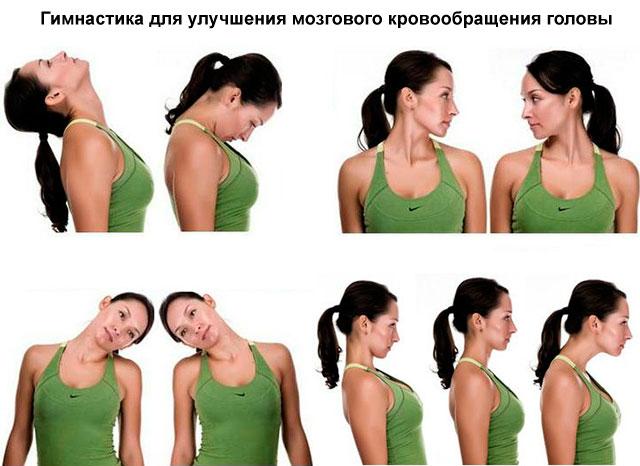 гимнастика для улучшения кровообращения головы