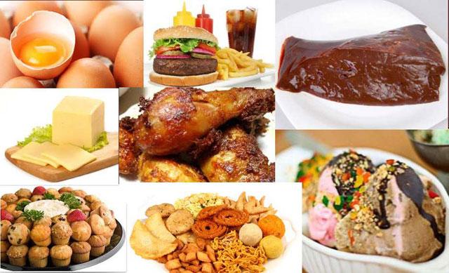 продукты с вредным холестерином