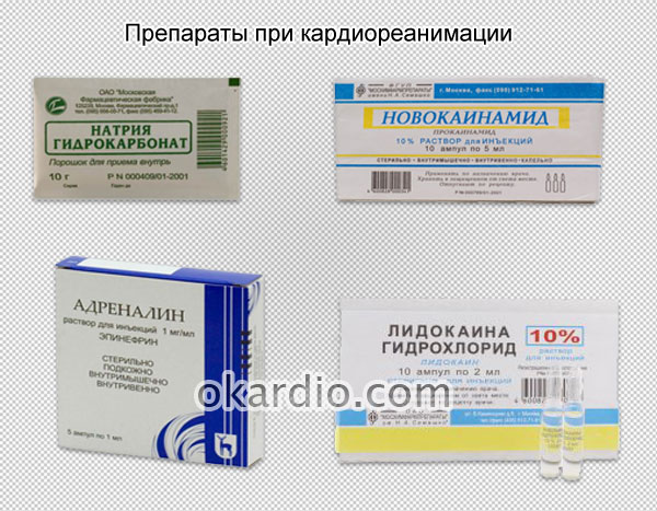 препараты при кардиореанимации