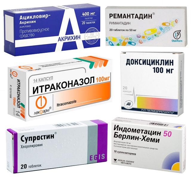препараты для лечения причин миокардита