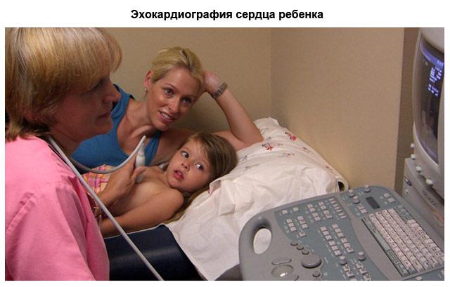 эхокардиография сердца ребенка