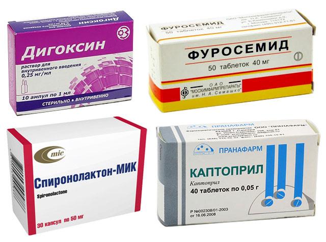 препараты при дефекте межжелудочковой перегородки