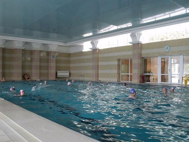 бассейн в санатории гурзуфском