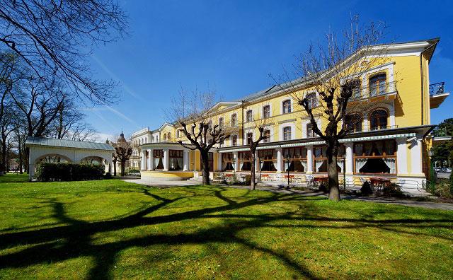 санаторий Франтишковы Лазни в Чехии