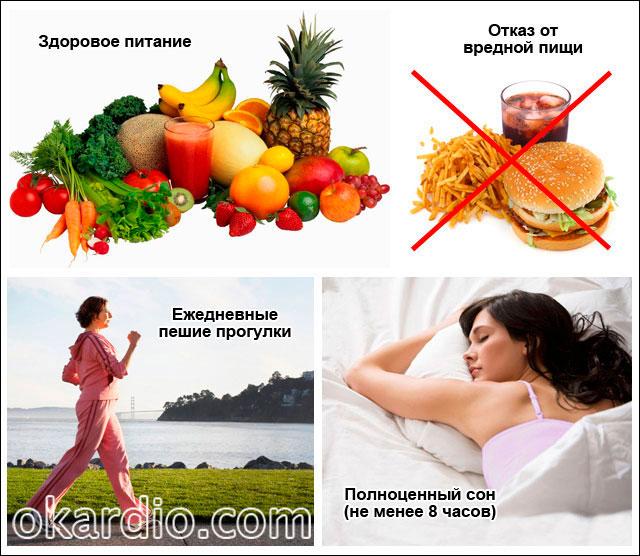 рекомендации по образу жизни для избавления от тахикардии